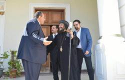 محافظ الإسكندرية يستقبل الأسقف العام للكنيسة المرقسية