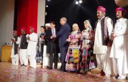 بالصور.. فرقة كالبيليا الهندية تقدم عروضها على مسرح  قصر  ثقافة الإسماعيلية