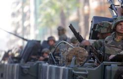 الجيش اللبنانى يوقف 20 سورياً فى طرابلس