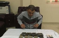 ضبط عاطل بحوزته 12 طربة حشيش بمدينة الحمام فى مطروح