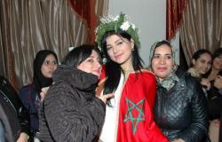 """بالصور: مشتركة """"ستار أكاديمي"""" حنان الخضر مصدومة من الاستقبال الذي حظيت به في المغرب"""