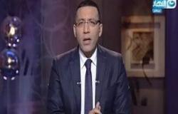 """بالصور.. خالد صلاح ناعيًا """"هيكل"""": """"آخر حصون الكلمة"""""""