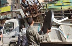 مصدر: إخلاء محلات سوق ناصر والأمين ببورسعيد لإنشاء مشروع الإسكان التعاونى