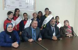 """شركة مياه القناة ومدرسة 24 أكتوبر ينفذان أول زيارة تلاميذ لمحطة """"سرابيوم"""""""