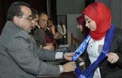 جامعة قناة السويس تنظم حفل تنصب اتحاد الطلاب تحت شعار نسعى من أجل الطالب