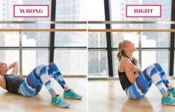 بالصور المتحركة.. تعرف على أهم أخطاء التمارين الرياضية فى المنزل