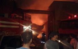 السيطرة على حريق فى منزل عامل بمركز سوهاج