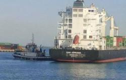 عودة العمل بميناء السخنة بالسويس عقب تحسين الأحوال الجوية