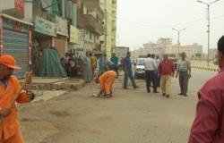 تحرير 55  مخالفة إشغالات فى حملة مكبرة بمدينة دكرنس