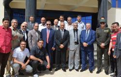 بالصور.. مصطفى بكرى واللواء السيد نصر يتفقدان جامعة كفر الشيخ