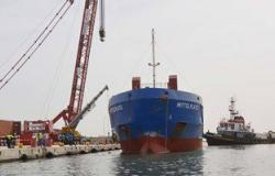 وصول التوربين السادس لميناء الصيد بالبرلس بكفر الشيخ
