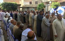 بالصور.. محافظ الغربية يقدم واجب العزاء لأهالى ضحايا الطائرة المنكوبة