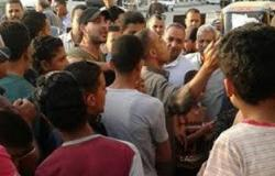 تجمهر العشرات أمام مركز شرطة أولاد صقر للمطالبة بضبط مسجلين
