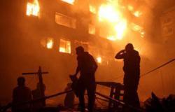 السيطرة على حريق بشقة سكنية فى منطقة الدقى بدون إصابات