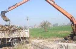 حى العامرية بالإسكندرية يشن حملة مكبرة لإزالة تعديات على أراضى الدولة