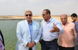 بالصور.. محافظ الإسماعيلية يتفقد الحقل الاسترشادى بقرية الأمل الجديدة