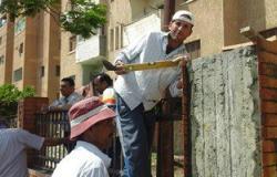 رئيس مركز ومدينة فوه بكفر الشيخ يتفقد أعمال إنشاء كورنيش النيل