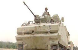 تصفية 13 إرهابيا واستشهاد 4 من قوات الأمن وتدمير 4 سيارات دفع رباعى بسيناء