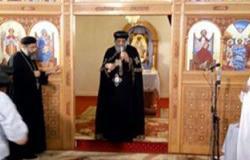 بالصور.. البابا تواضروس يلقى العظة الأسبوعية من بيت الكرمة بكينج مريوط