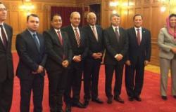 بالصور.. على عبد العال يلتقى رئيس البرلمان ووزير خارجية المجر