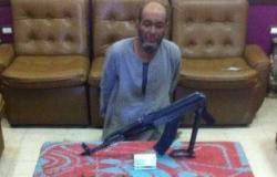 حبس عاطل 4 أيام بعد ضبطه بـ15 كيلو بانجو وبندقية آلى بمرسى علم