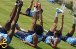 9 لاعبين راحة في تدريب الأهلي